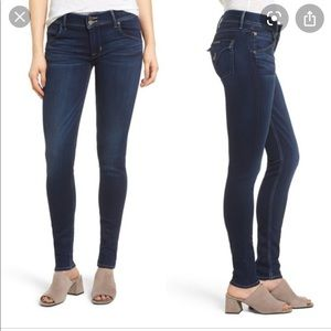 Hudson Collin Back Flap Skinny Jean